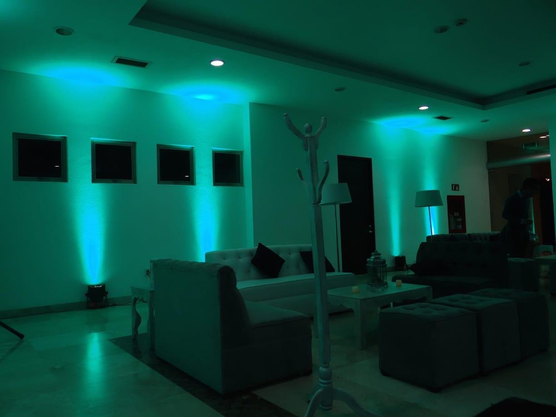 iluminaci n ambiental para tu fiesta